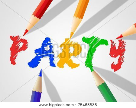 Kids Party Shows Youth Celebrations And Celebration