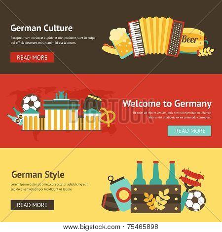 Germany banner set