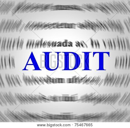 Audit Definition Means Validation Analysis And Inspect