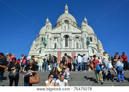 The Basilica of the Sacred Heart of Paris