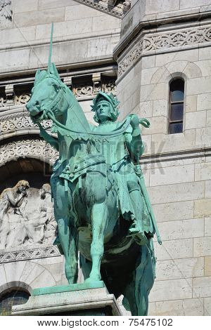 Equestrian Statue of Saint Louis