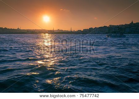 Sunset Above Bosporus