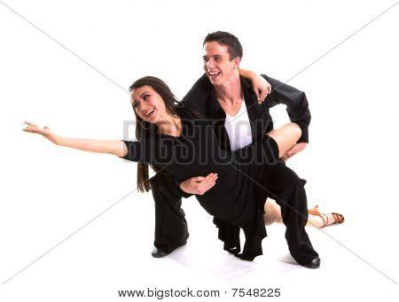 Ballroom Dancers Black 03