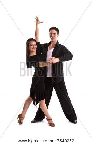 Ballroom Dancers Black 10