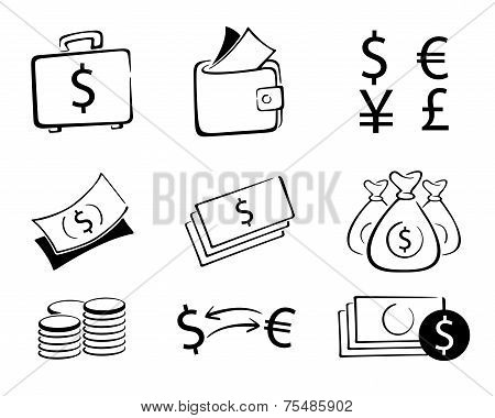 Money Set icons
