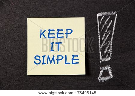 Keep It Simple!