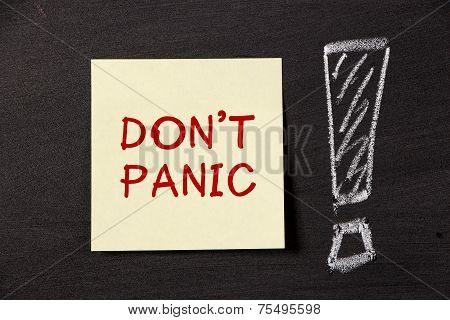 Don't Panic Note