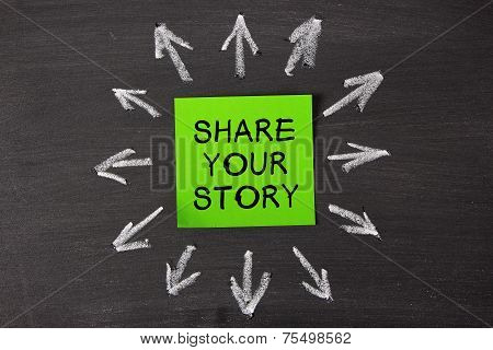 Share Your Story Note