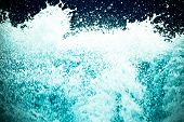 picture of h20  - frothy dirty  water splash abstract background  - JPG