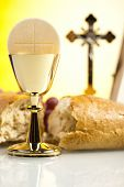foto of eucharist  - First communion  - JPG