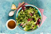 pic of rocket salad  - Fresh green salad - JPG
