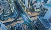 stock photo of kanto  - X Cross cityscape Bangkok city center - JPG