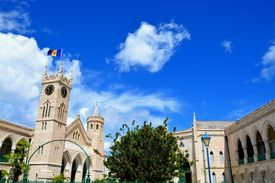 stock photo of british culture  - The parliament of Bridgetown - JPG