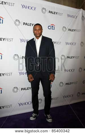 LOS ANGELES - MAR 14:  David Ramsey at the PaleyFEST LA 2015 -