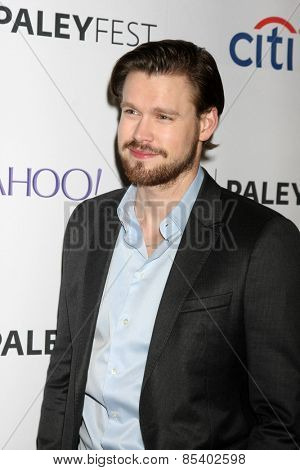 LOS ANGELES - MAR 13:  Chord Overstreet at the PaleyFEST LA 2015 -