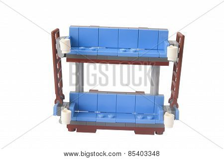 Double Decker Couch Lego Kit