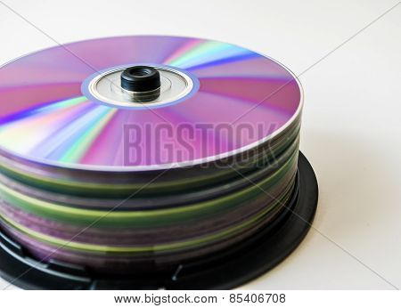 Lots of colorful discs