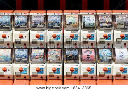 Vending machines of toy