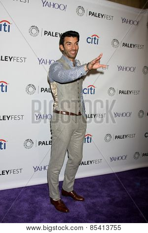 LOS ANGELES - MAR 15:  Justin Baldoni at the PaleyFEST LA 2015 -