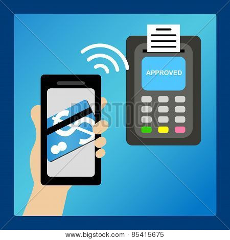 Pay Money By Smart Phone