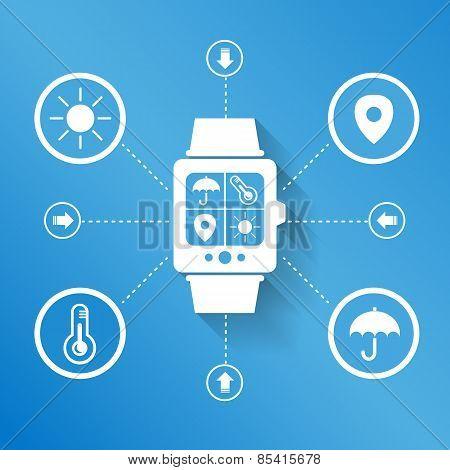 Smart Watch Wearable Device