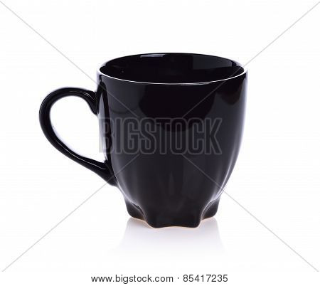 Ceramic Glass On White Background