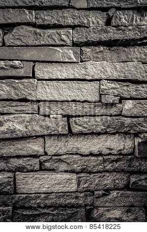 Old brick wall with grunge color style