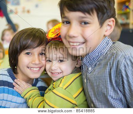 Happy children together