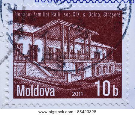 Moldova Postage Stamp