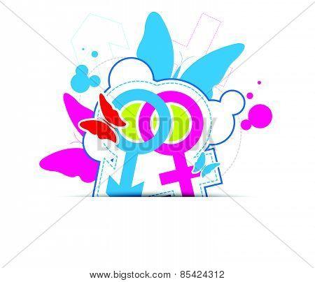 Sexual Symbol Concept Design