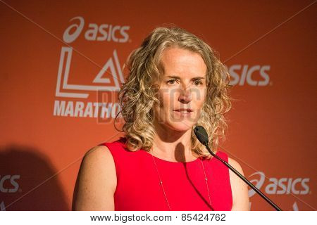 Tracey Russell, Chief Executive Of La Marathon Llc