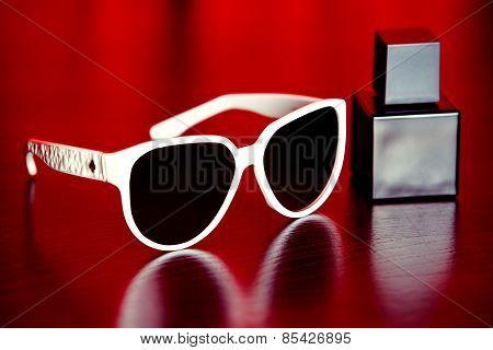 Stylish Sunglasses And Perfume