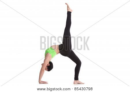 One-legged Upward Bow Pose
