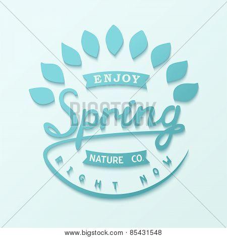 Spring label