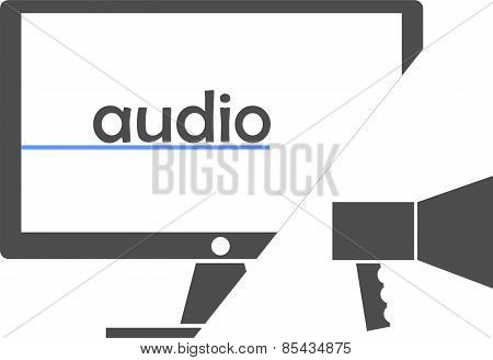 vector - audio