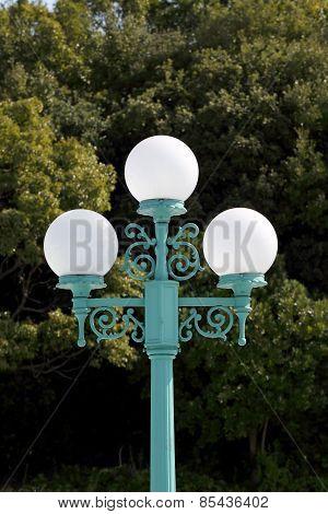 Street lamp post