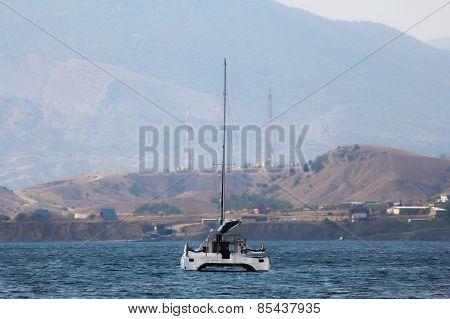 seascape, yacht