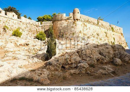 Fortress of Fortezza. Rethymnon. Crete. Greece