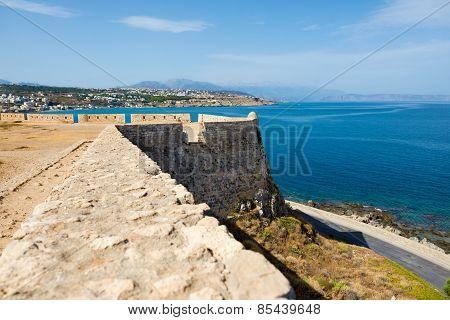 Fortress of Fortezza. Rethymnon. Crete. Greece.