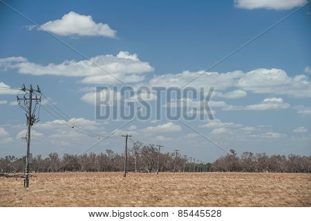 Wires Across The Landscape
