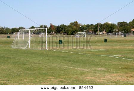 Empty Soccer Field