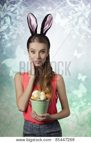 Rabbit, Easter Girl