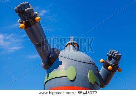 Gigantor Robot in Kobe Japan