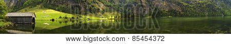 Konigssee Lake Panorama