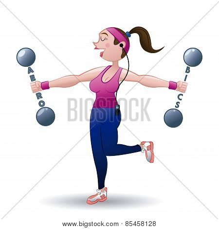 gym design over white background vector illustration