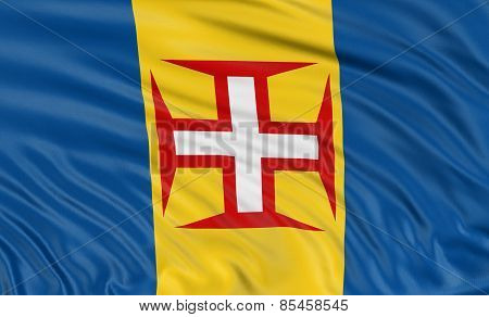 3D Madeira flag