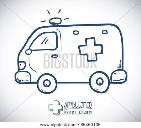 medicine design over gray background vector illustration