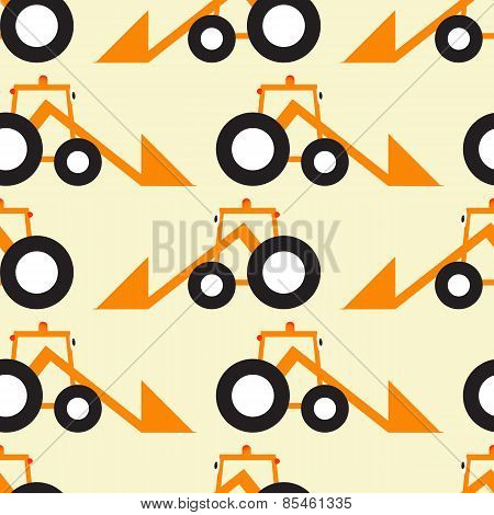 Funny Tractor Opposite Pattern