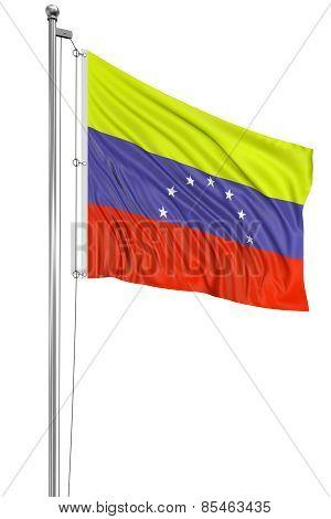 3D Flag of Venezuela
