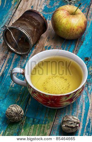 Cup Of Apple Tea